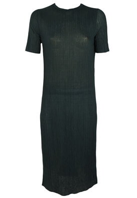 Rochie Pull and Bear Francine Dark Green