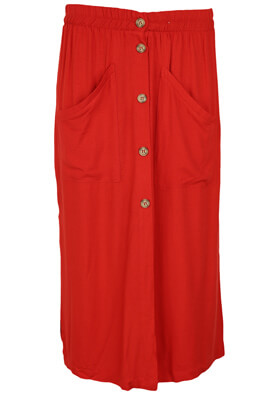 Fusta Pull and Bear Sarah Red