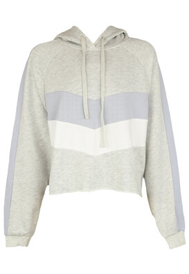 Hanorac Pull and Bear Olivia Light Grey