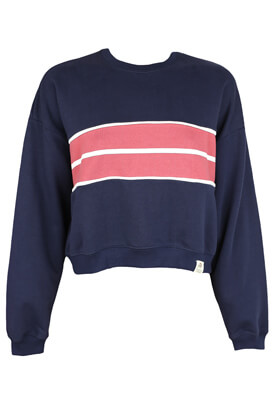 Bluza Pull and Bear Ramona Dark Blue