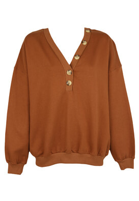 Bluza Pull and Bear Fay Brown