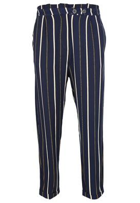 Pantaloni Pull and Bear Tanya Dark Blue