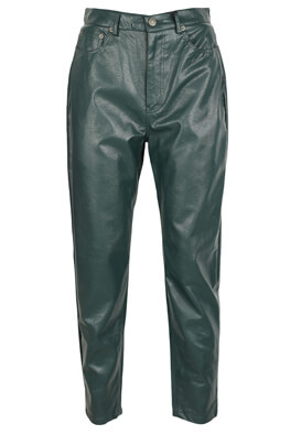 Pantaloni Pull and Bear Fiona Dark Green