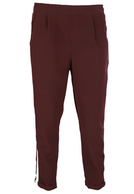 Pantaloni Pull and Bear Brenda Dark Purple