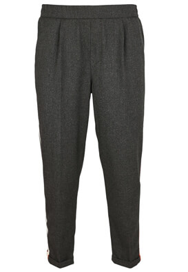 Pantaloni Pull and Bear Loreen Dark Grey