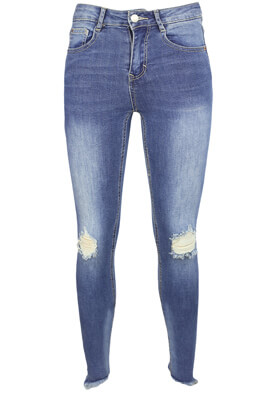 Blugi Pull and Bear Nastasia Blue