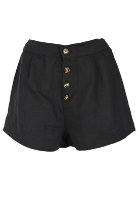 Pantaloni scurti Pull and Bear Petra Black