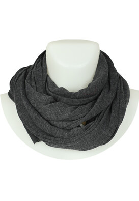 Esarfa Pull and Bear Ramona Dark Grey