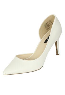 Pantofi Orsay Whitney White