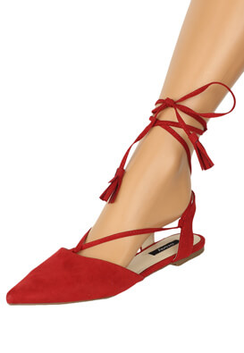 Sandale Orsay Laura Red