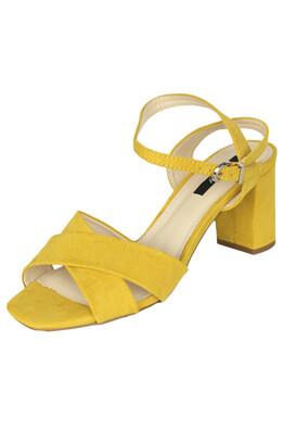 Sandale Orsay Laura Yellow