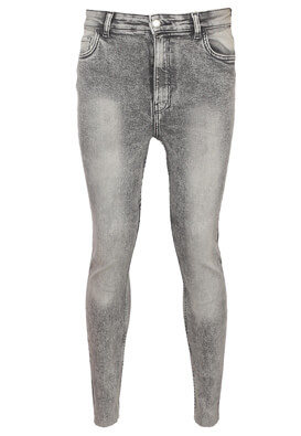 Blugi Bershka Tina Light Grey