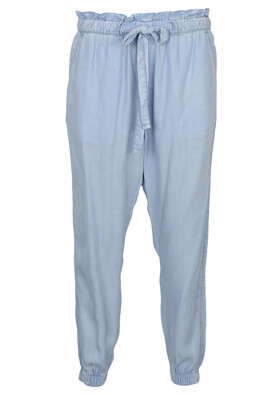 Pantaloni Bershka Vanessa Light Blue