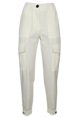 Pantaloni Bershka Melody White