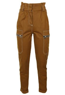 Pantaloni Bershka Amber Brown