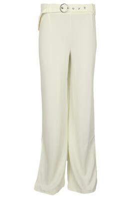 Pantaloni Bershka Francesca White