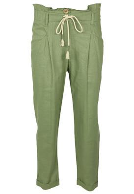 Pantaloni Bershka Michelle Dark Green