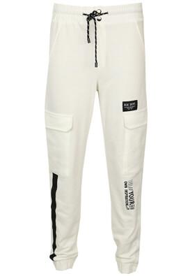 Pantaloni sport Bershka Susan White