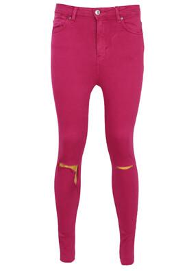 Pantaloni Bershka Danielle Dark Pink