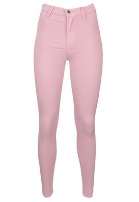 Pantaloni Bershka Christine Light Purple