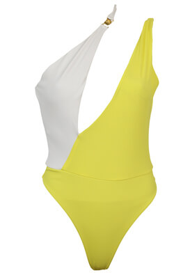 Costum de baie ZARA Georgia Yellow