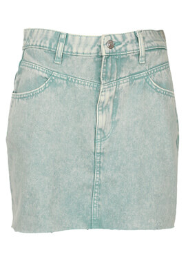 Fusta Bershka Rebecca Light Green