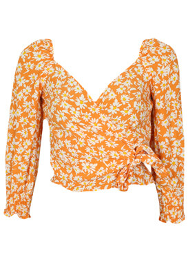 Bluza Bershka Natalie Orange
