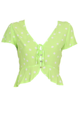 Camasa Bershka Hanna Light Green