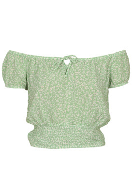 Tricou Bershka Nikky Light Green