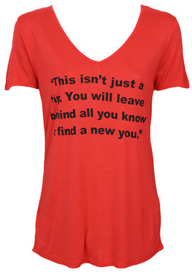 Tricou Lefties Patricia Red