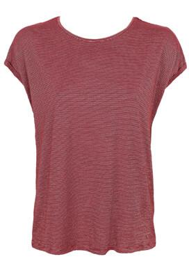 Tricou Vero Moda Brigitte Dark Red