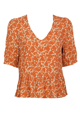 Tricou Vero Moda Nadine Orange