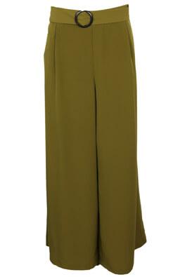 Pantaloni Vero Moda Victoria Dark Green