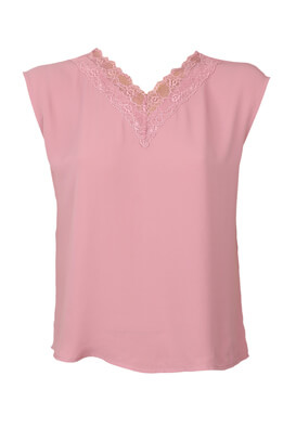 Tricou Vero Moda Belinda Pink