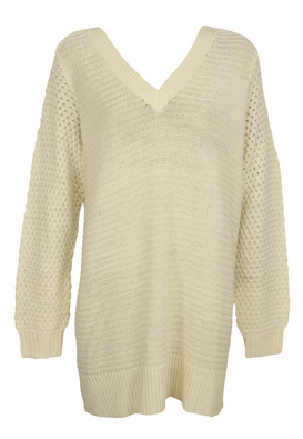 Pulover Vero Moda Carrie Light Beige