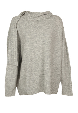 Pulover Vero Moda Nikky Light Grey