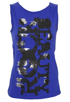 Tricou Guya Gloria Dark Blue