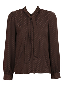 Camasa Vero Moda Nicole Dark Brown