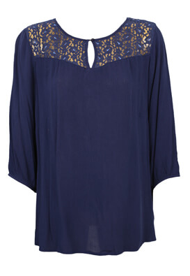 Bluza Junarose Jane Dark Blue