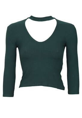 Bluza Lefties Francesca Dark Green