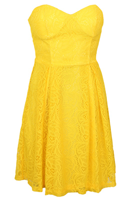 Rochie Glamorous Nadine Yellow