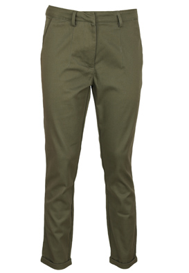 Pantaloni Lefties Rita Dark Green