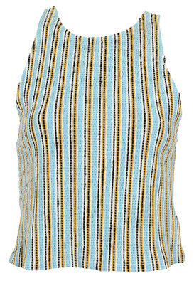 Tricou ZARA Alexandra Light Blue