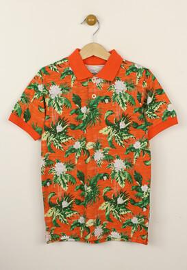 Tricou polo Produkt Kaled Orange