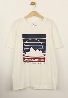 Tricou Jack and Jones Marshal White