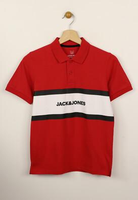 Tricou polo Jack and Jones Aldo Red