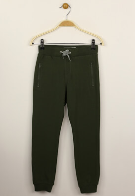 Pantaloni sport Name it Matt Dark Green