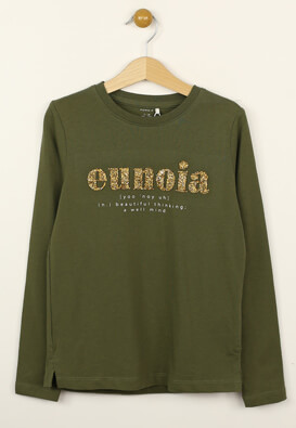 Bluza Name it Gabriella Dark Green
