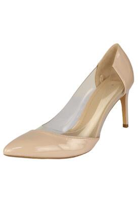 Pantofi Bershka Sharon Light Beige
