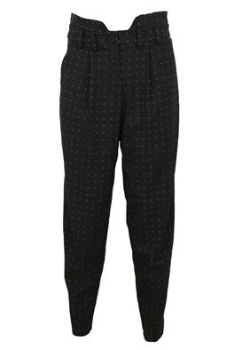 Pantaloni de stofa Vila Amelia Black
